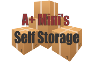 A+ Mini's Self Storage logo