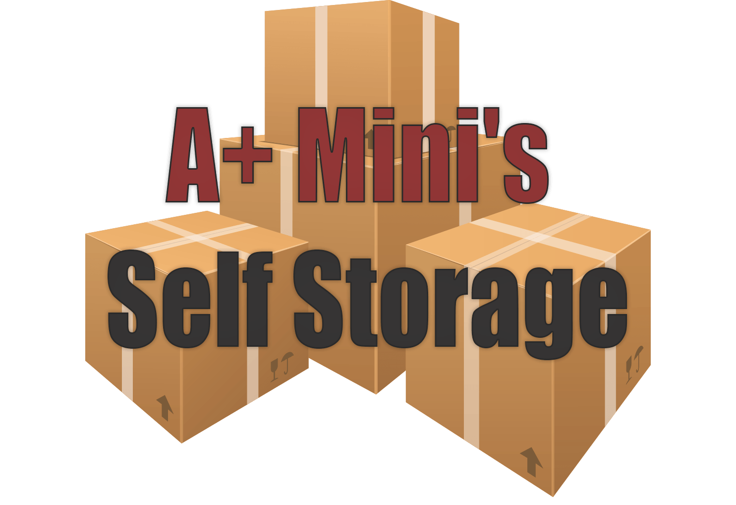 A+ mini self storage logo