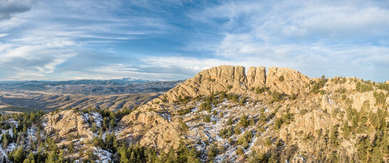 Horsetooth Rock panorama